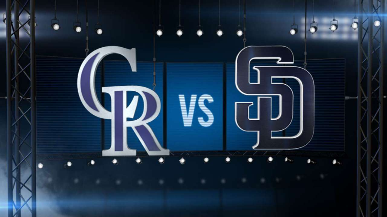 ICYMI: Padres' hit parade rains down in rout