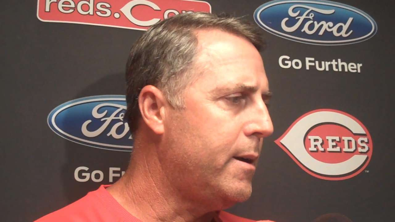 Price on Reds' loss, ejections