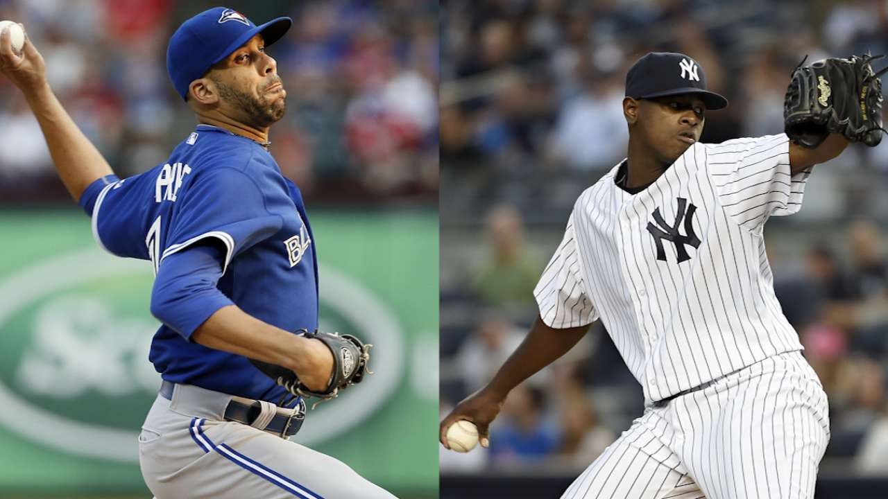 Blue Jays, Yanks fight for East supremacy in Bronx