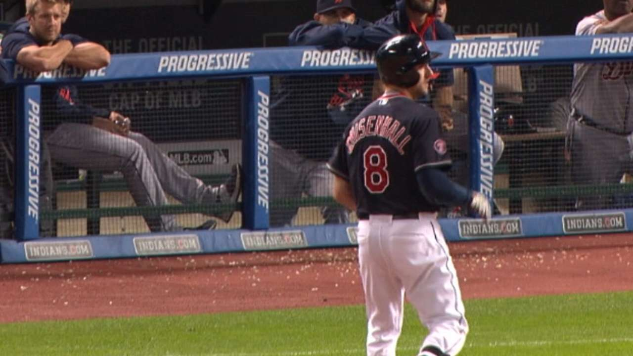 Chisenhall puts himself in the right spot
