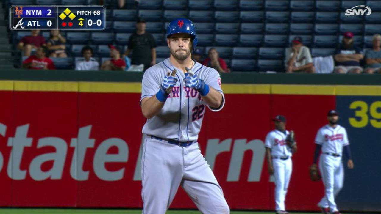 Mets pad lead behind Colon's strong start