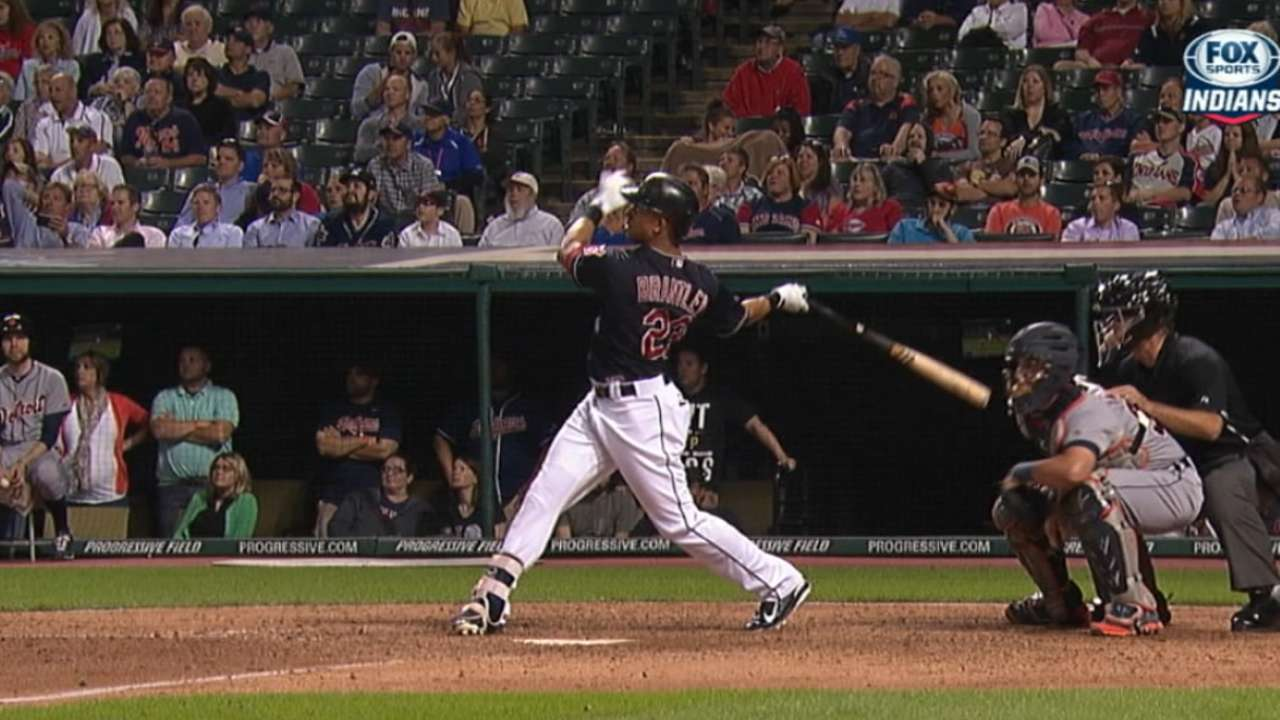 Must C: Brantley rescues Indians
