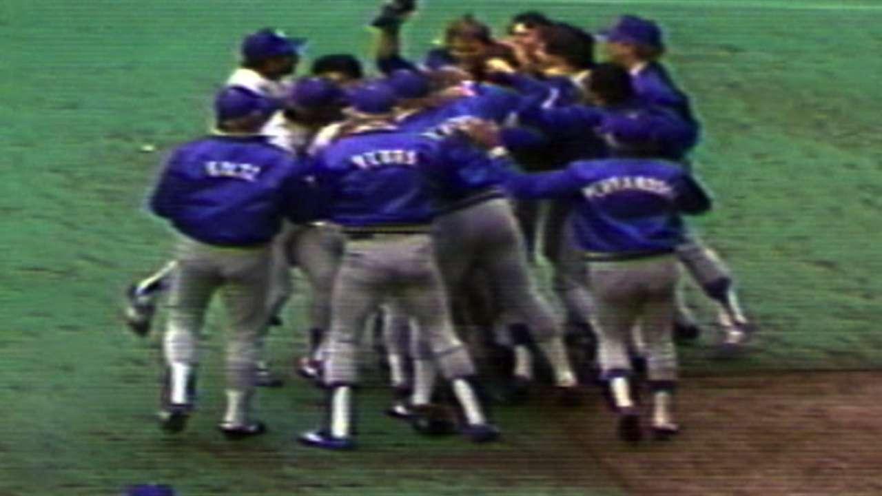 Dodgers win 1981 NL Pennant