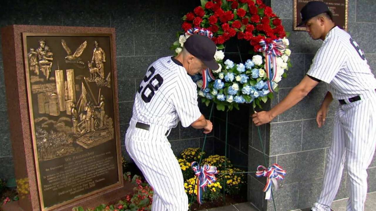 NY native Betances reflects on heartache of 9/11