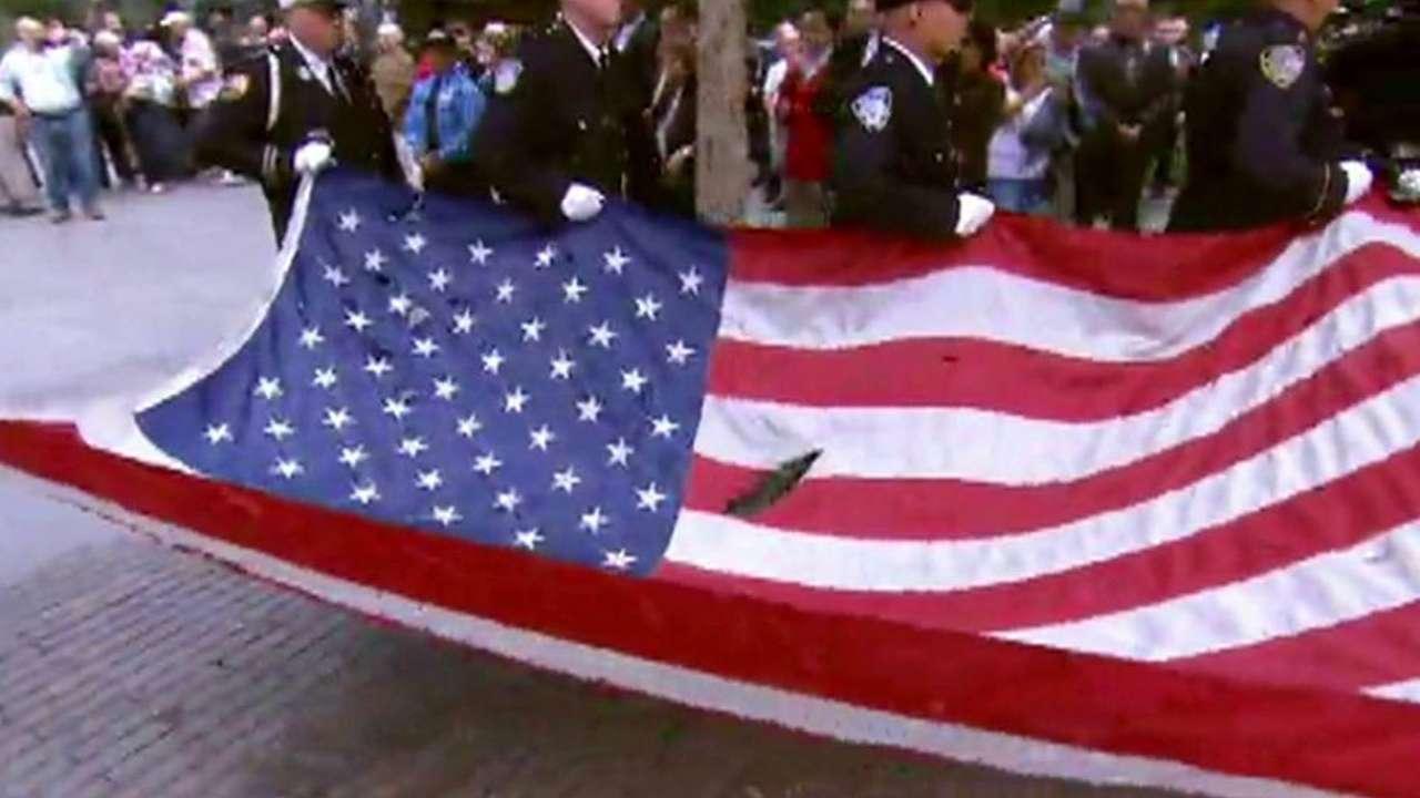 Rangers remember Sept. 11 2001