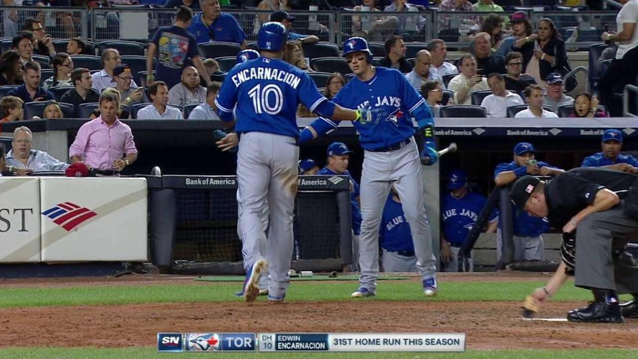 Encarnacion's two-run homer