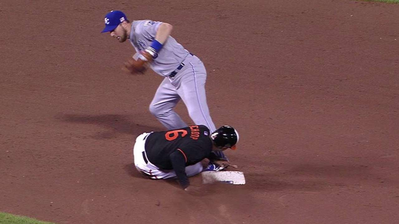 Moustakas' diving play