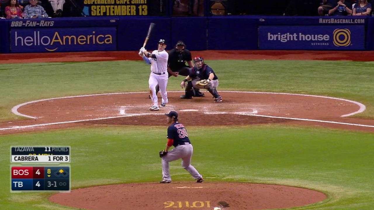 Cabrera's go-ahead two-run shot