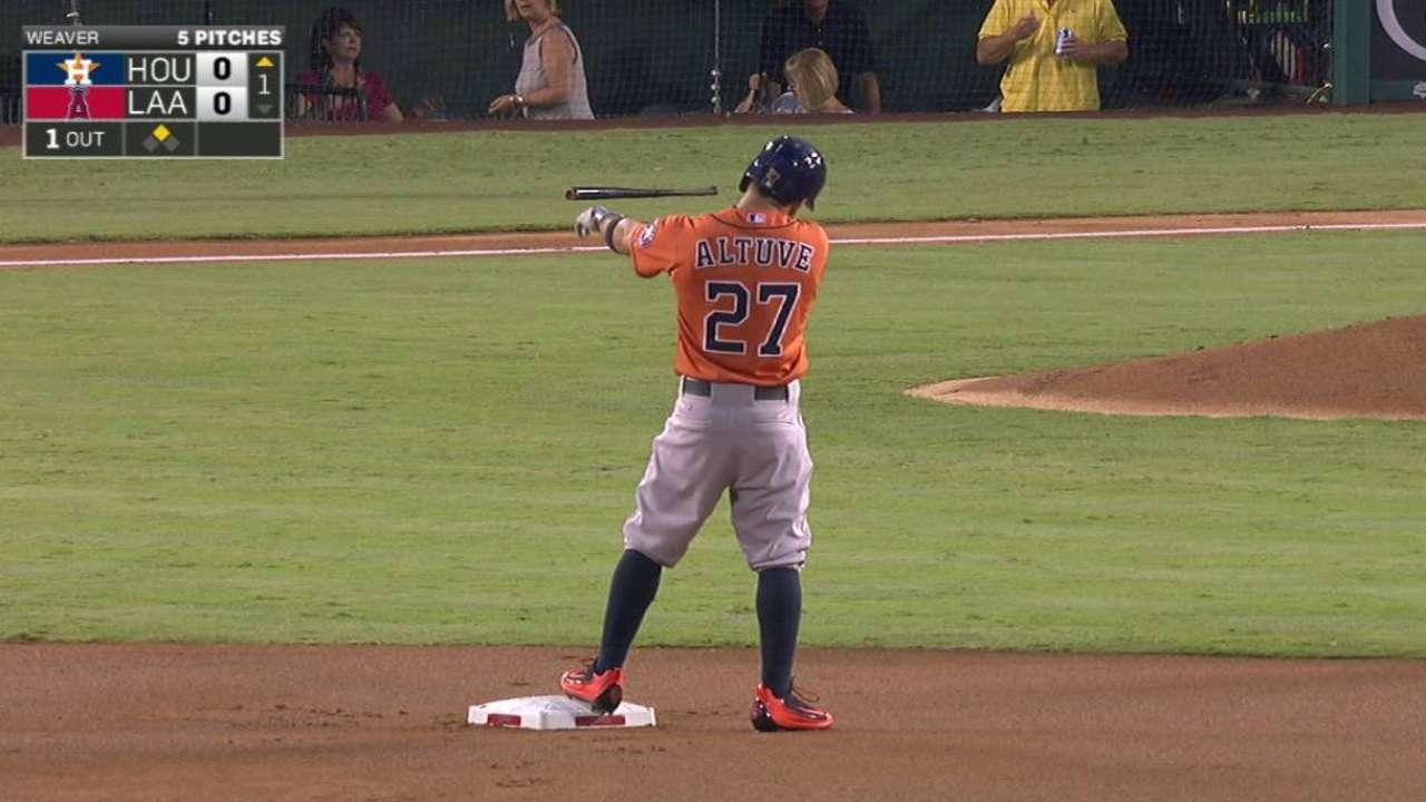 Altuve es el jugador de Astros que más rápido ha llegado a 800 hits