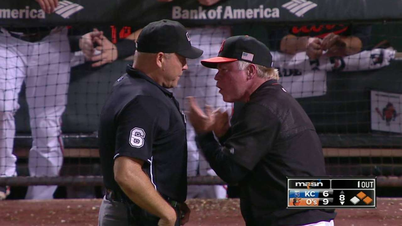 Showalter gets ejected
