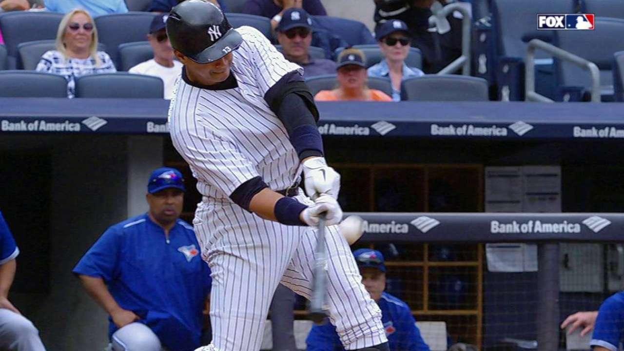 Yankees tropezaron con Azulejos por partida doble