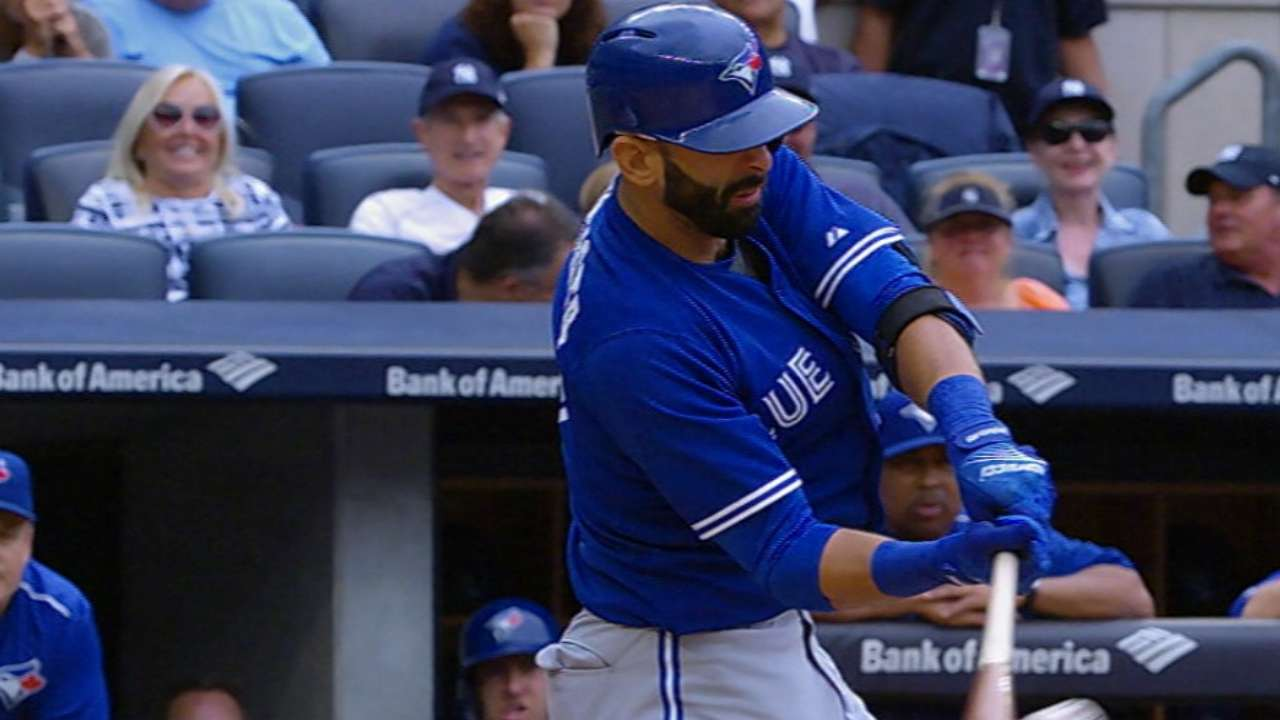 Bautista connects for two homers