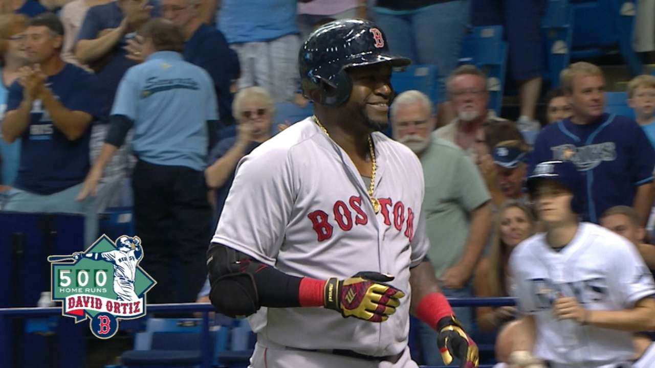 Ortiz's 500th MLB homer