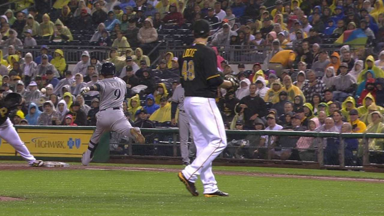 Around the Horn: Pirates all set behind dish