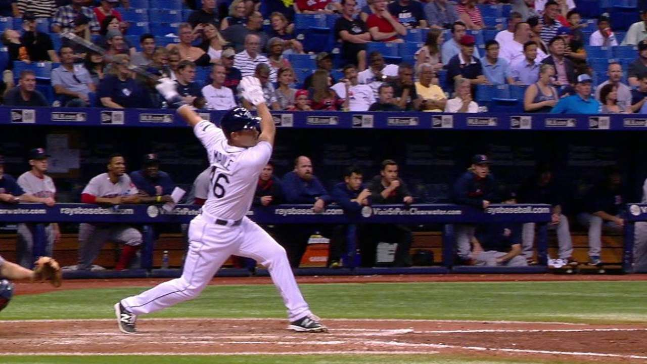 Maile's first career hit