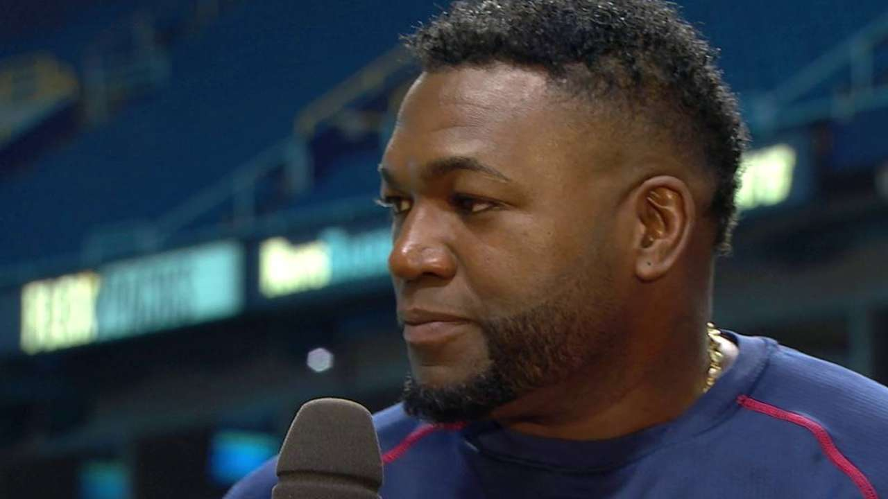 Papi on home run No. 500