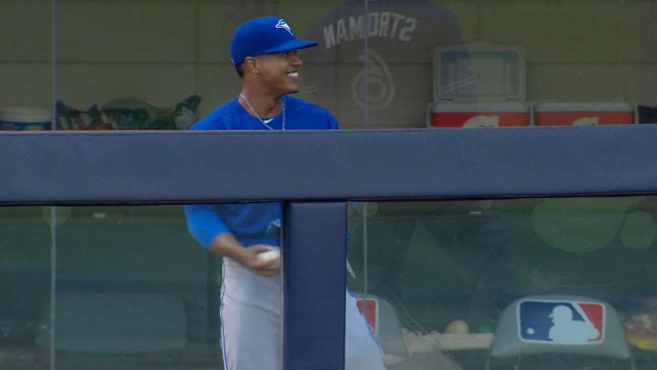 Stroman on return: 'I couldn't be more happy'