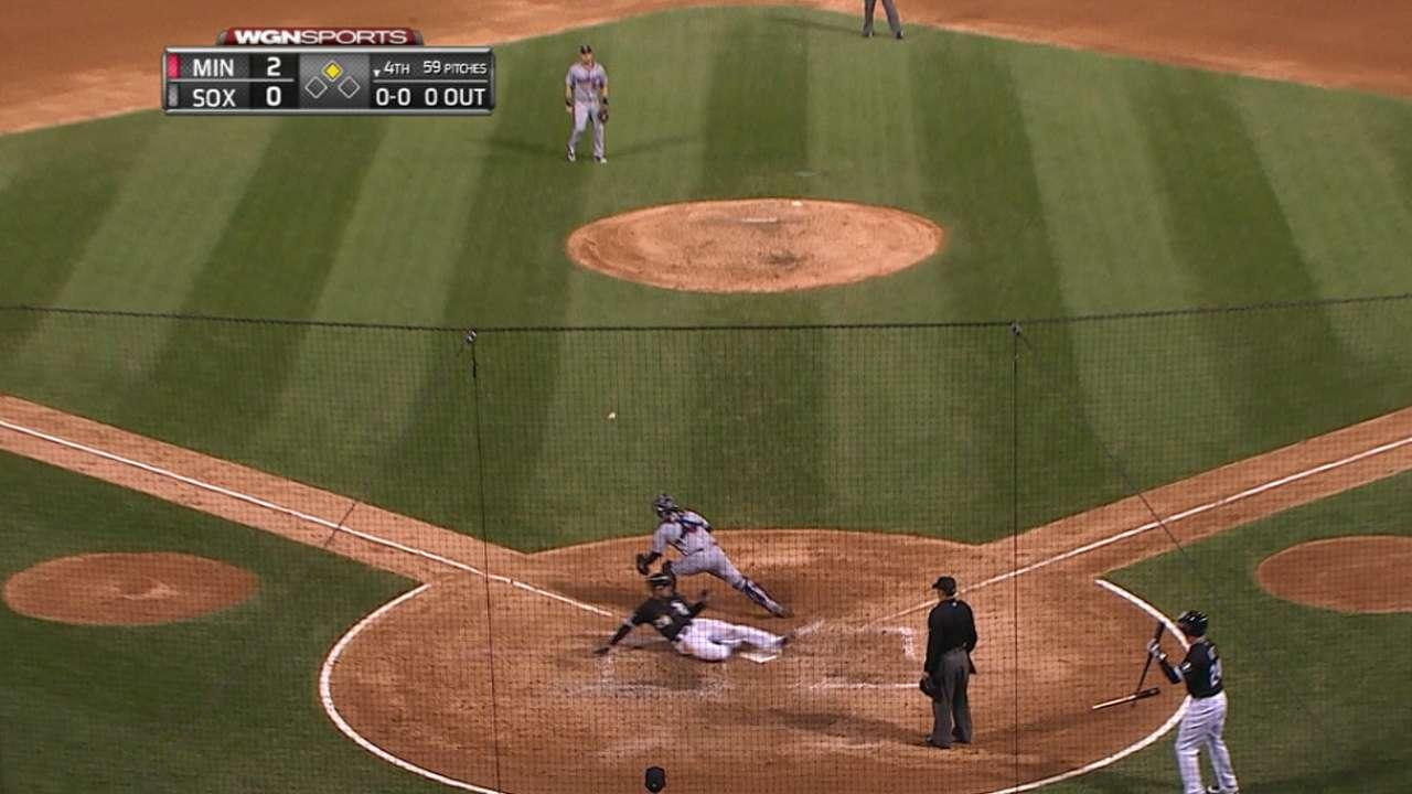 White Sox seven-run inning