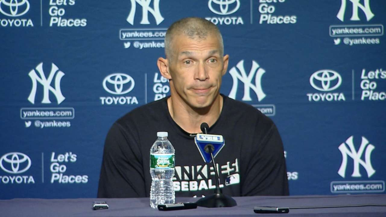 Girardi: Yankees must improve pitching to beat Blue Jays