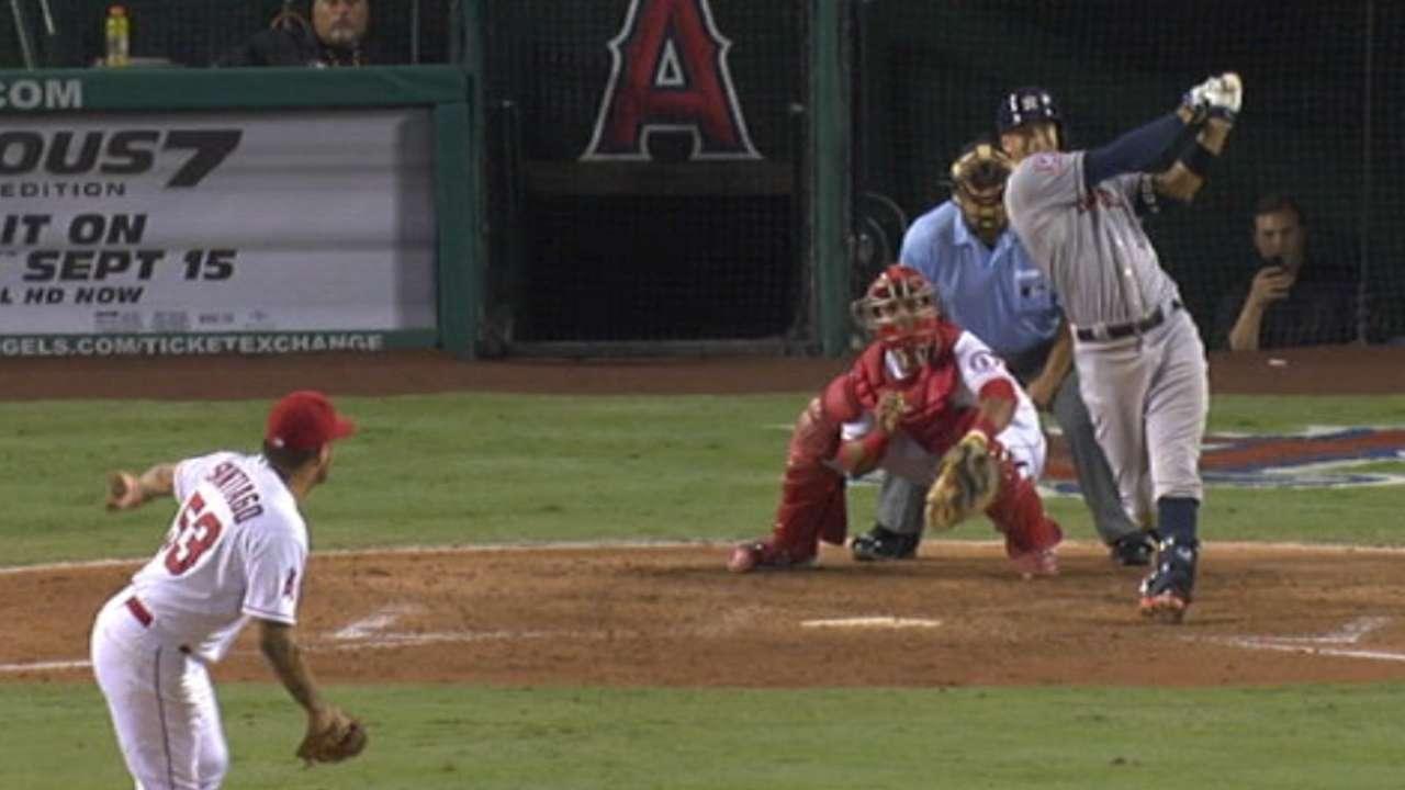 Correa's long solo home run