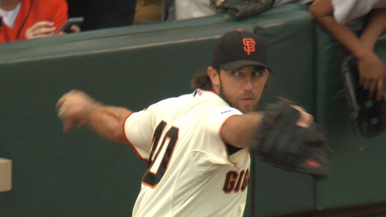 NL thick with Cy Young competition for MadBum