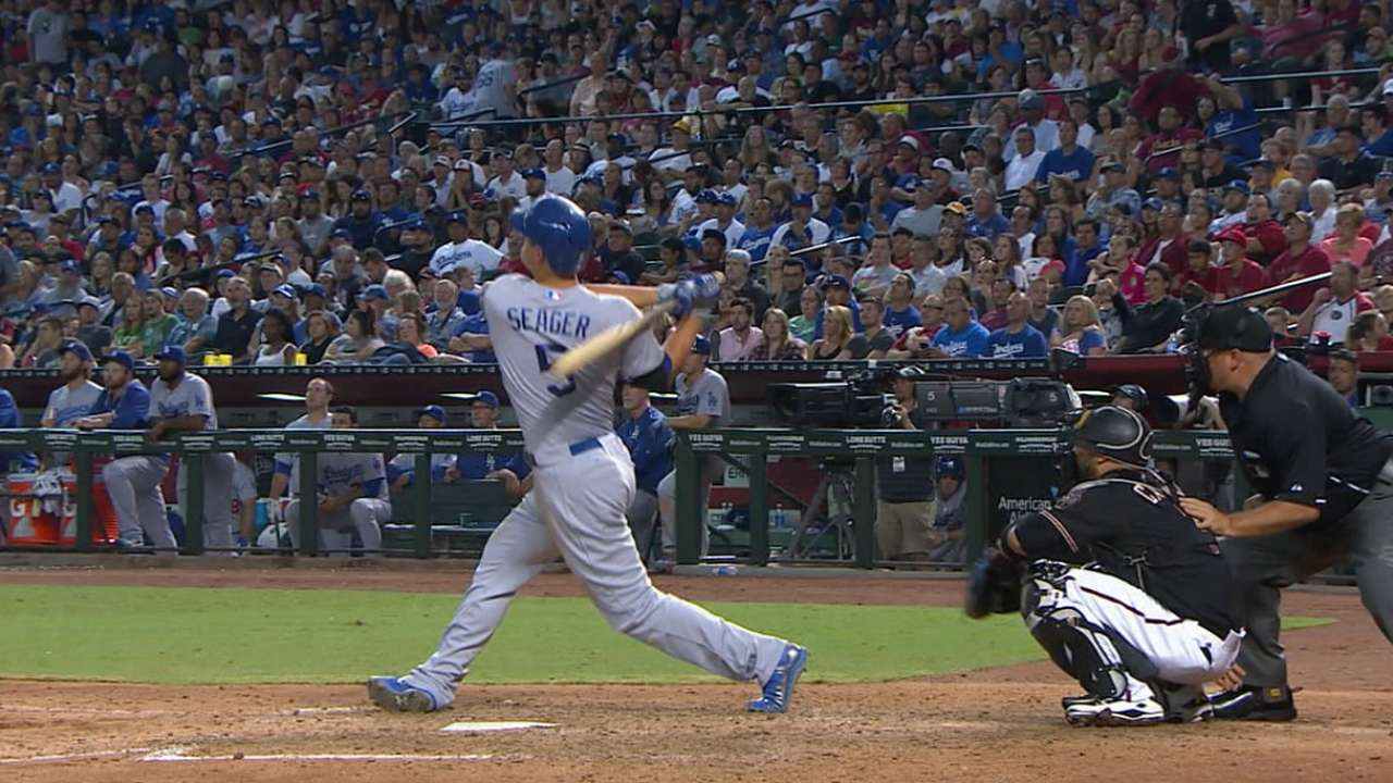 Must C: Seager's first MLB homer