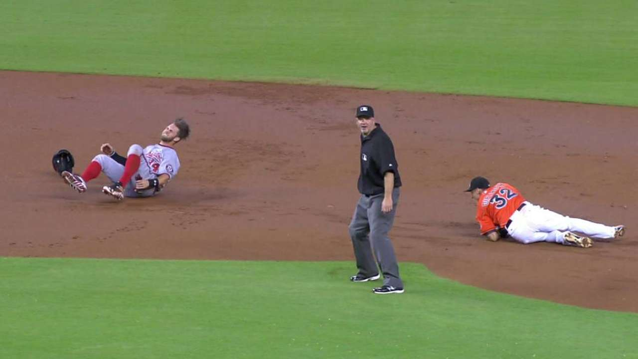 Harper collides with Dietrich