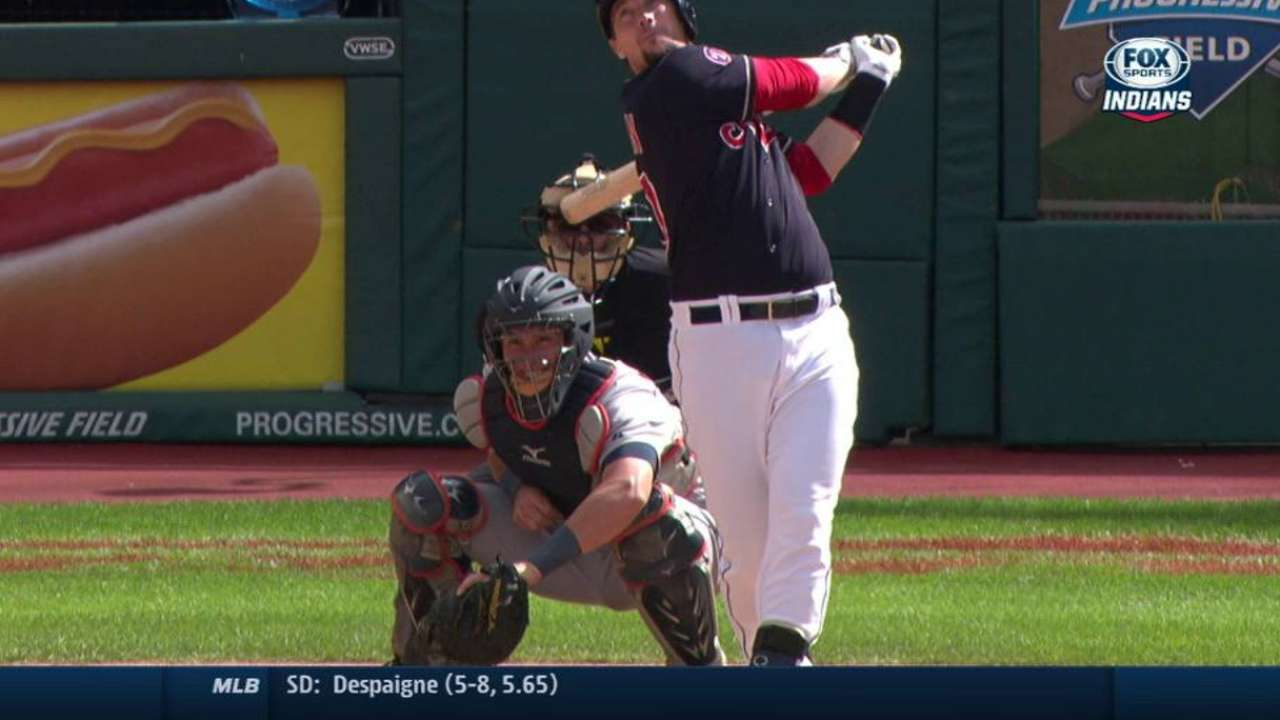 Tribe keeps momentum with Game 1 win