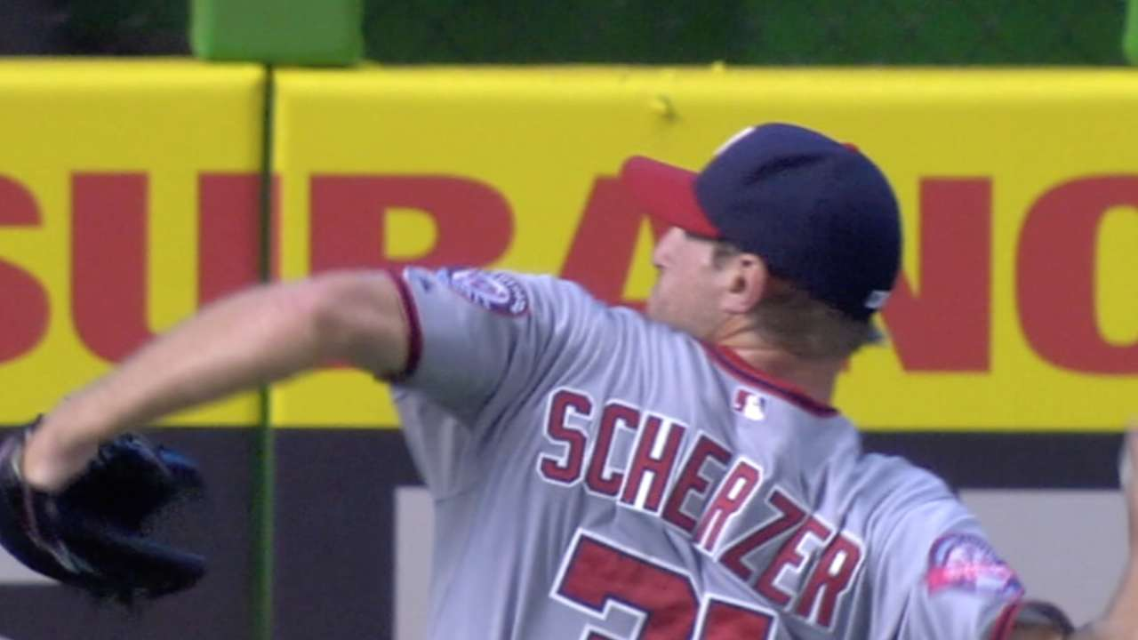 Scherzer's scoreless start
