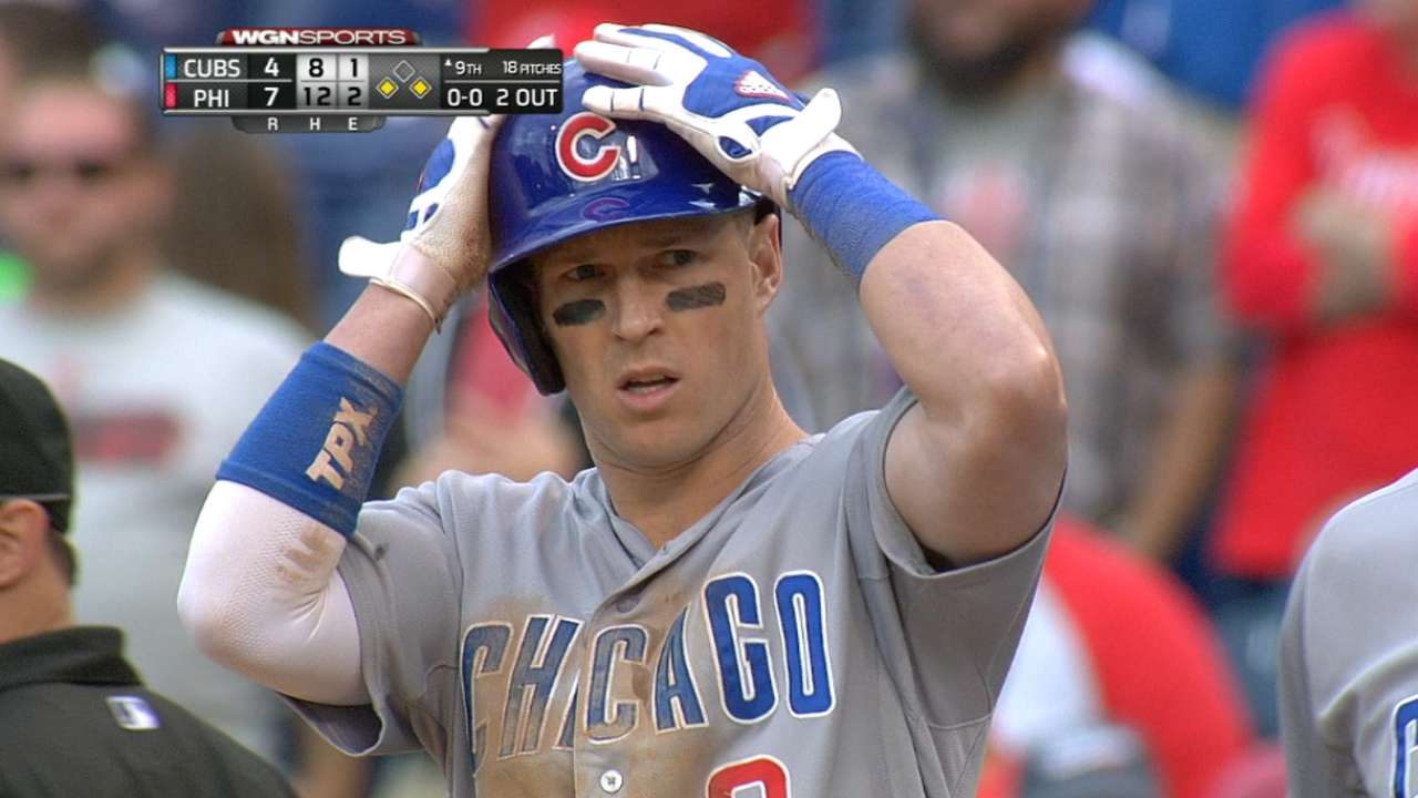 Coghlan makes noise with historic day at the plate