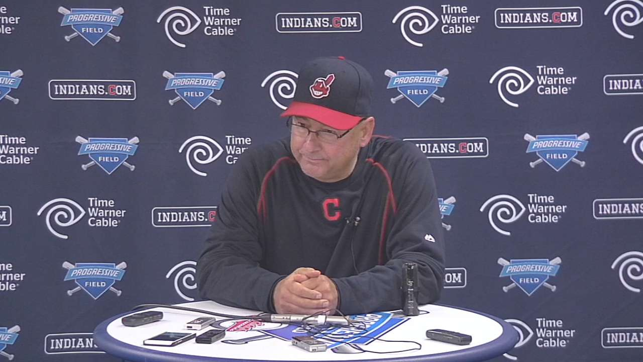 Francona on relief pitching