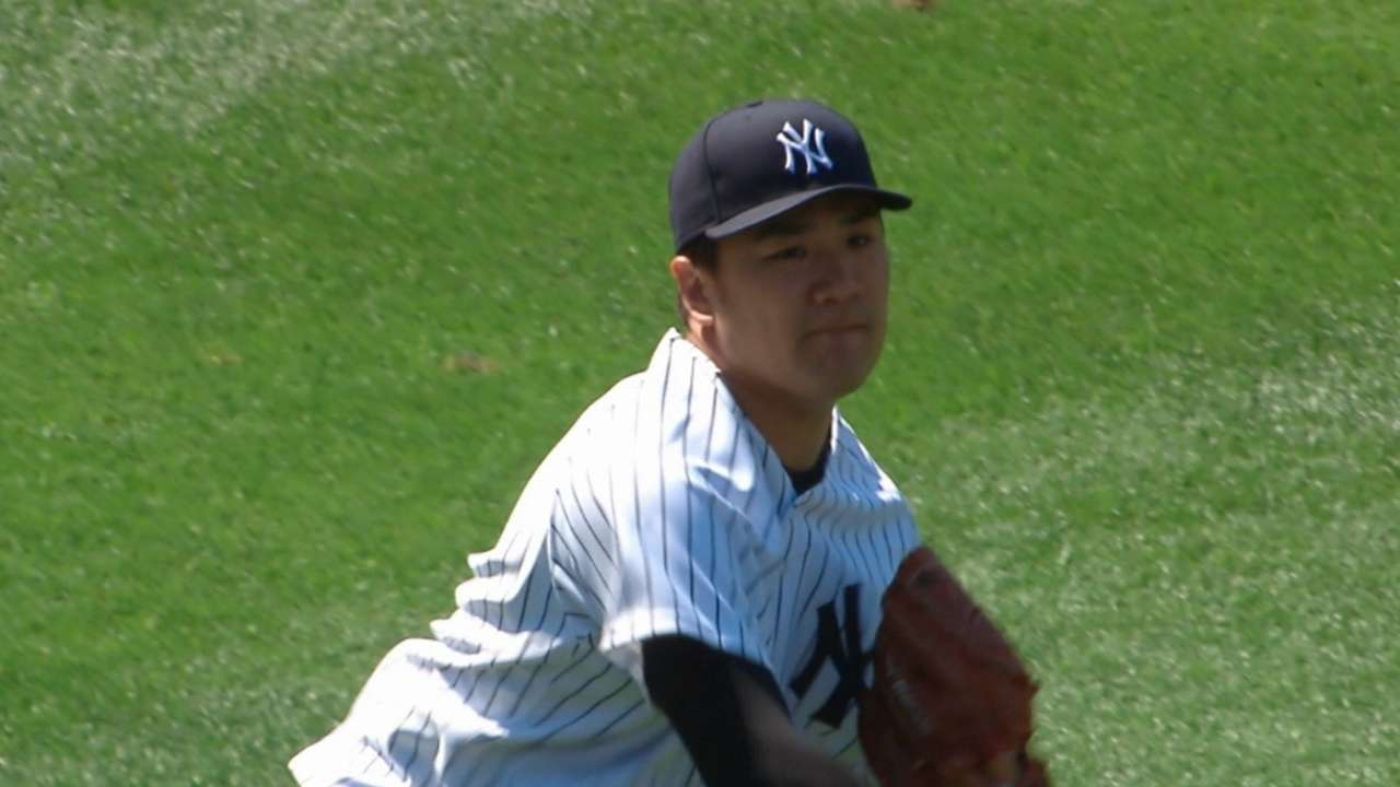 Tanaka dominates for win No. 12