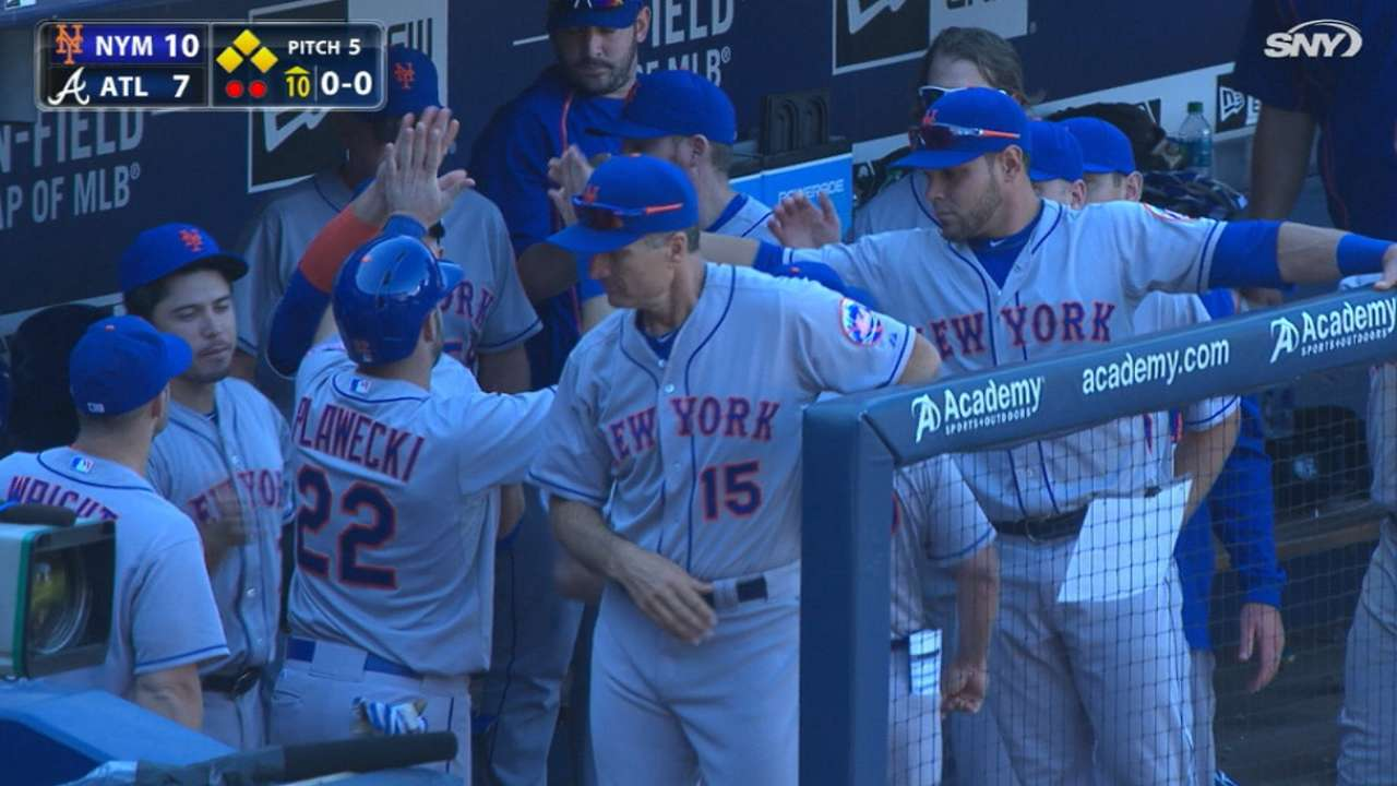Mets rally in the 10th
