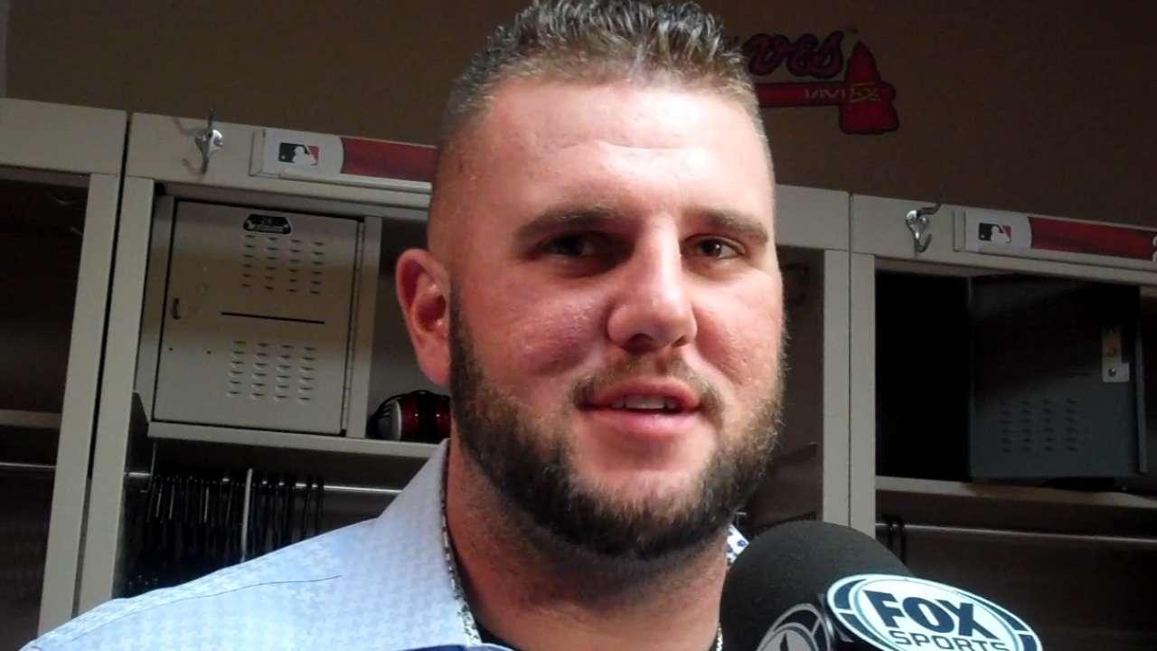 Adams on pinch-hit home run