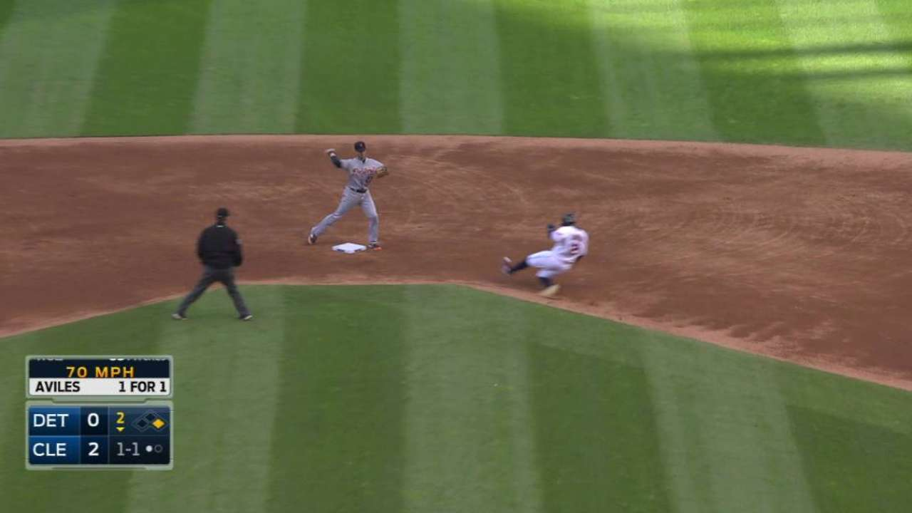 Wolf induces inning-ending DP