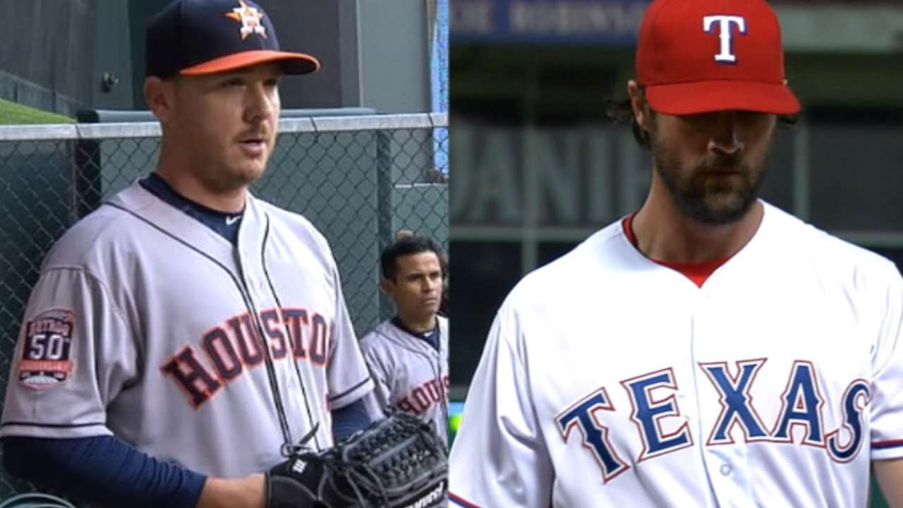 Rangers vs. Astros: Let the rivalry begin