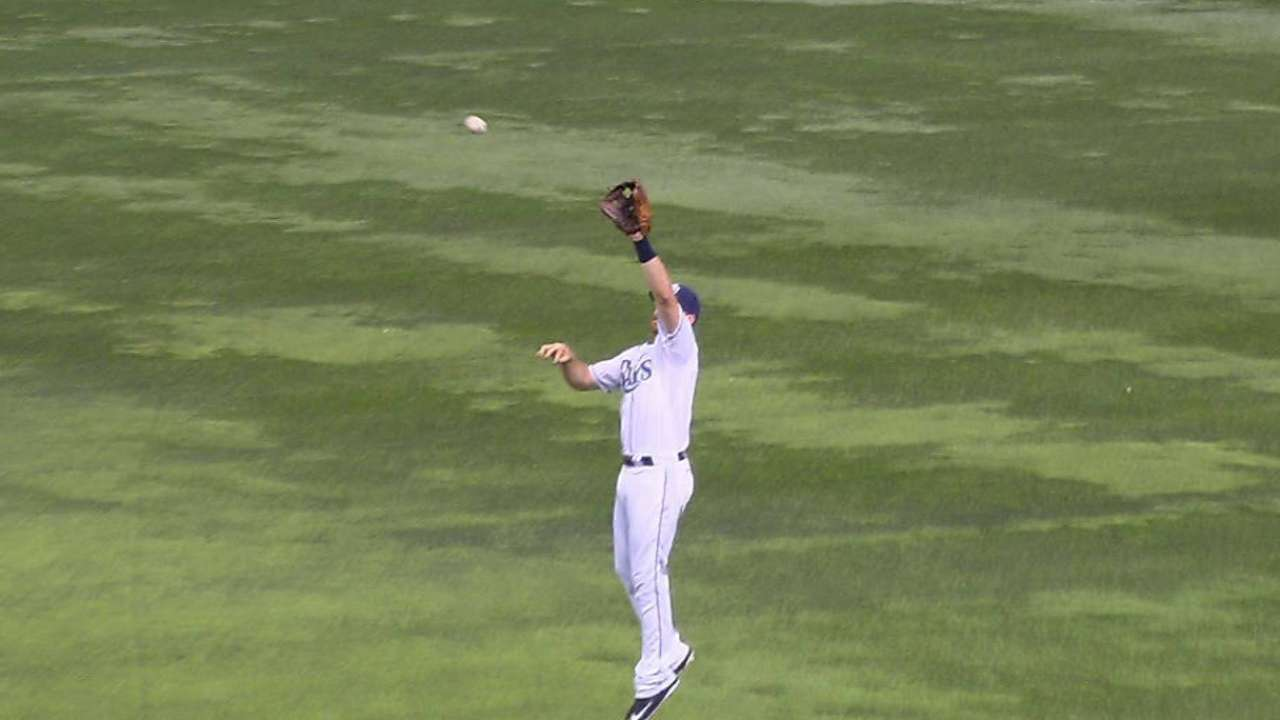 Forsythe's leaping grab