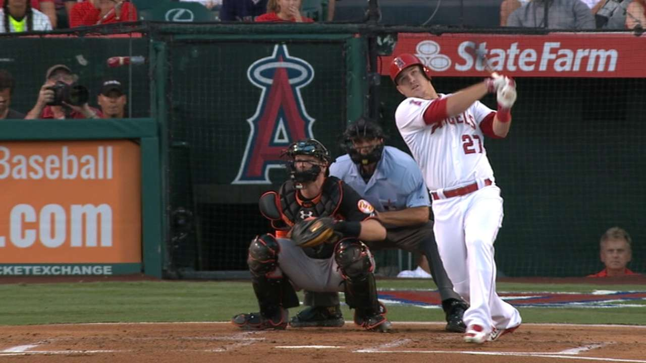 Best Everyday Player: Trout