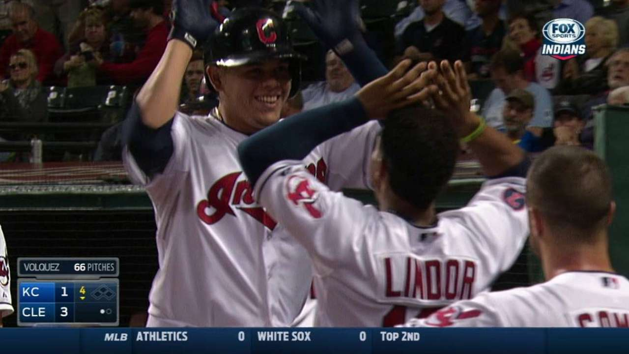 Urshela to train with Lindor in offseason