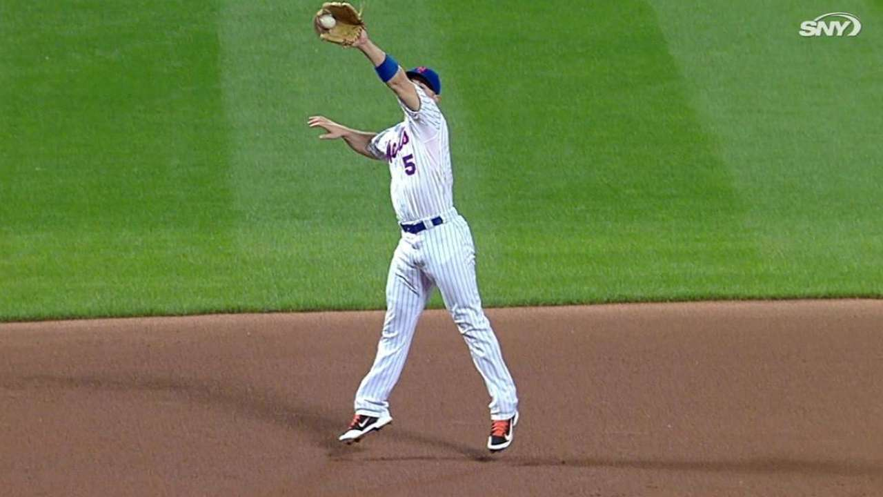 Wright's leaping catch