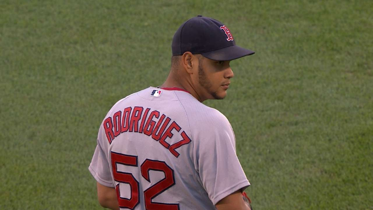 Rodriguez to pitch 10-14 innings in 2 more starts