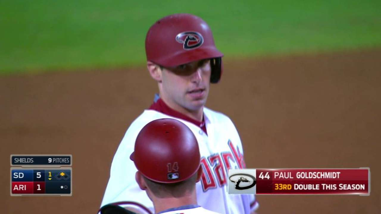 D-backs look to rest Goldy more next season
