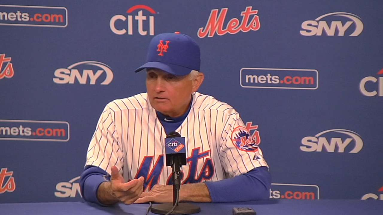 Collins on Mets' 4-3 win