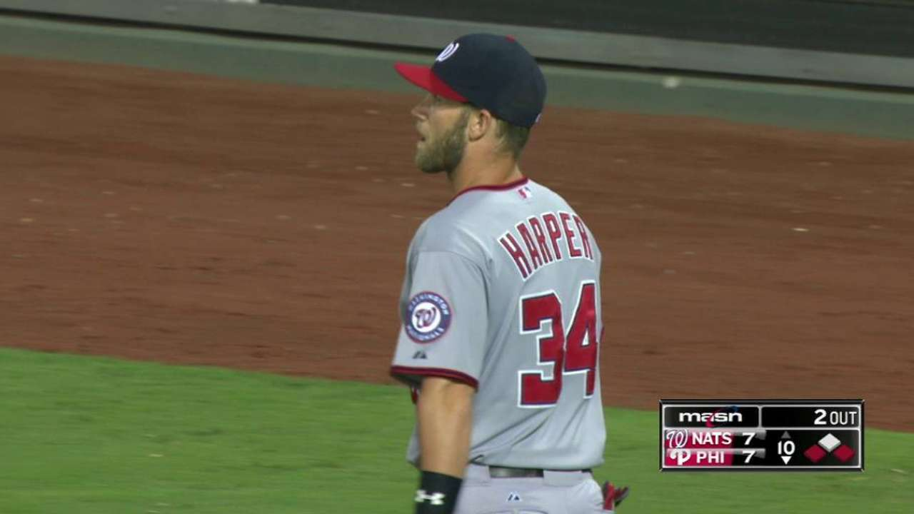 Harper's grab saves the game