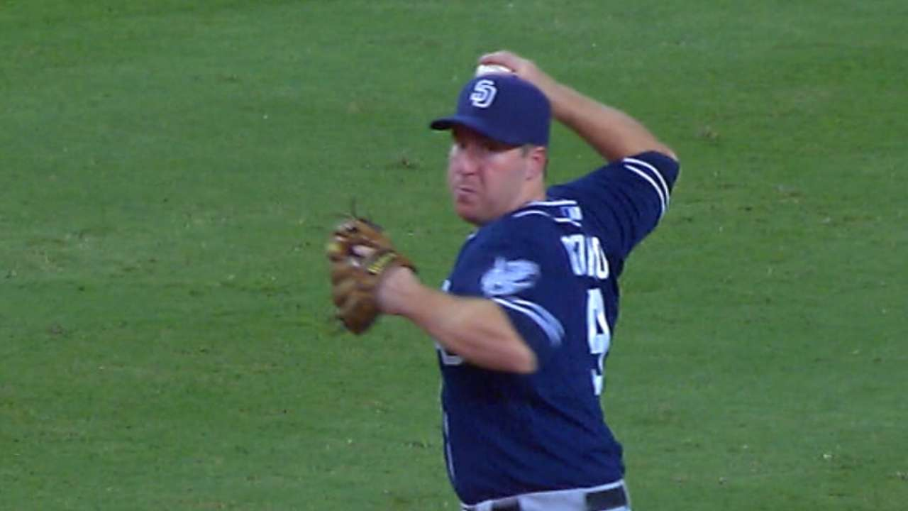 Padres 'pleased' with Gyorko's development at short