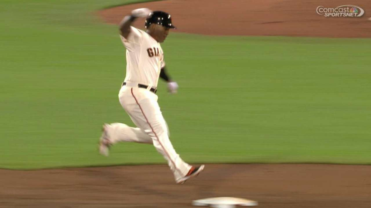 Byrd's RBI holds up as Giants edge Reds