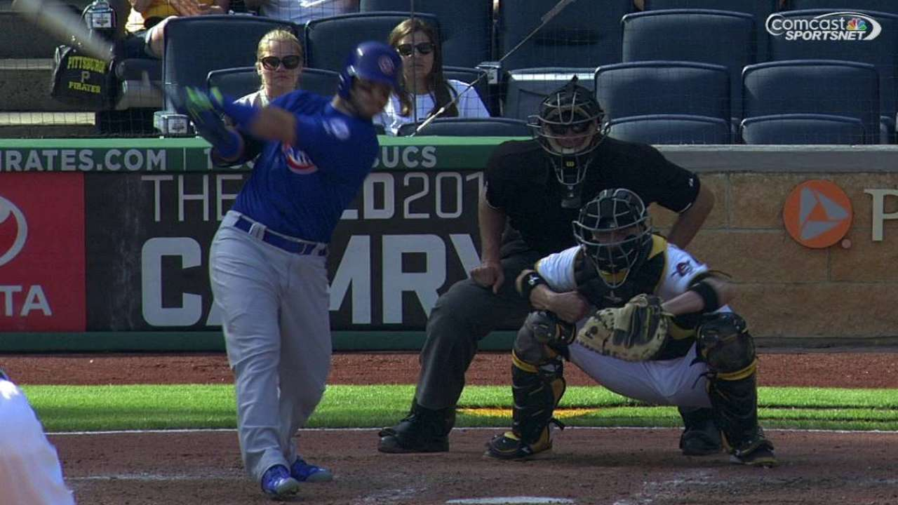 La Stella's RBI double