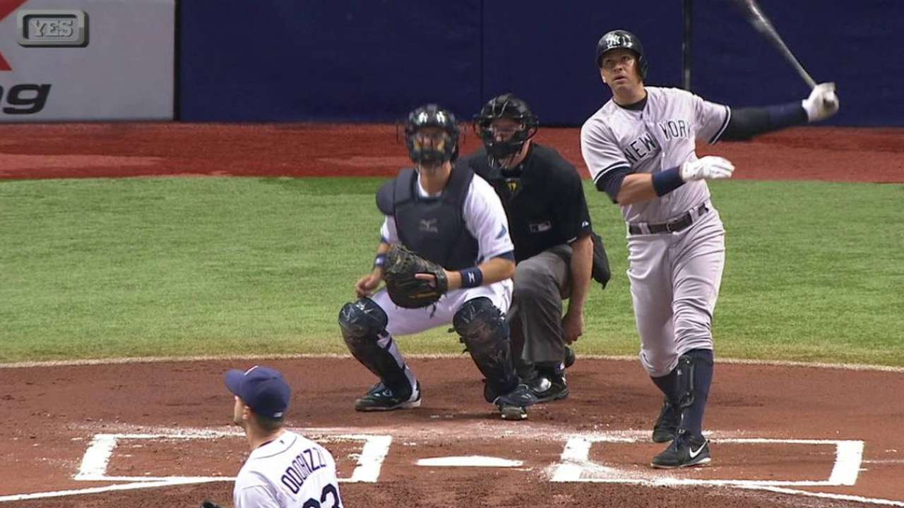 A-Rod provides Yanks threat off bench vs. Mets