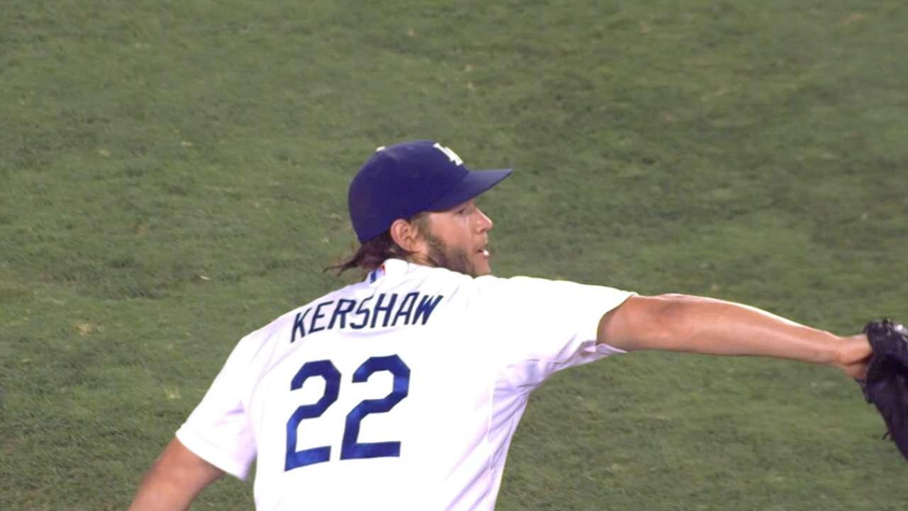 Best Starting Pitcher: Kershaw