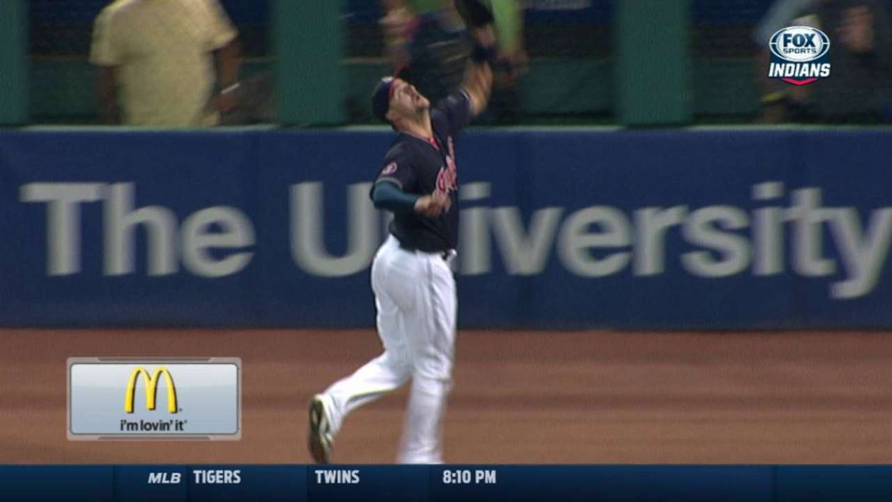 Chisenhall stretches for catch